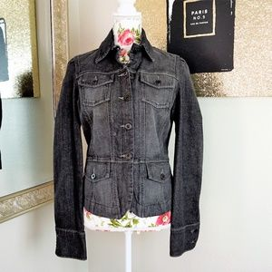 Calvin Klein Jeans | Smoke Grey Denim Jacket